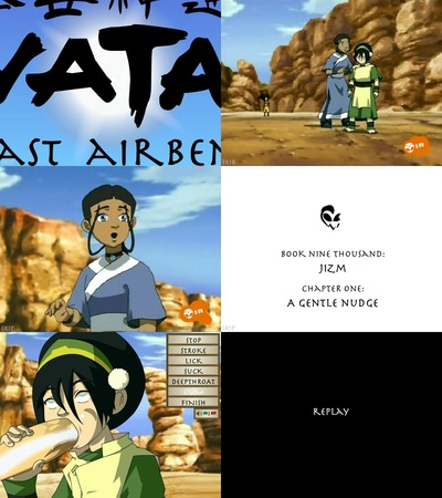 Avatar porn - water tentacles for toph